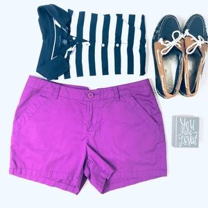 Columbia Purple Kenzie Cove Shorts